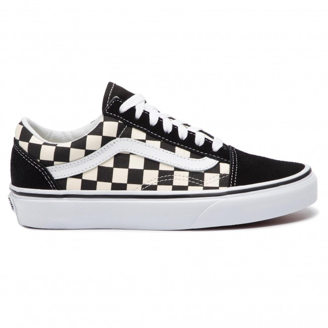 ccc8bf2218ec Plimsolls VANS - Old Skool VN0A38G1P0S1 (Primary Check) Blk White ...