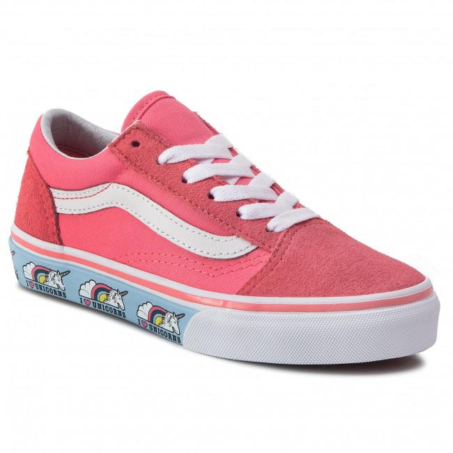 Plimsolls VANS - Old Skool VN0A38HBVE01 Strawberry Pink - Laced ... 20c85ce8094cf