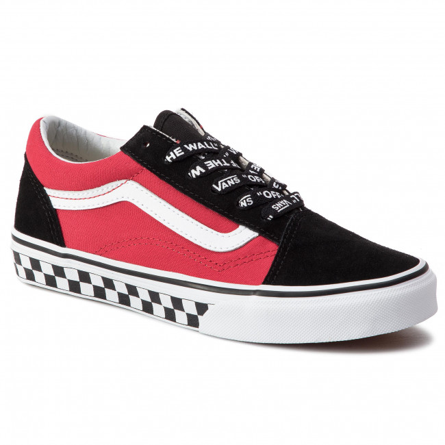 de21ca0728 Plimsolls VANS - Old Skool VN0A38HBVI71 (Logo Pop) Black True Whi ...