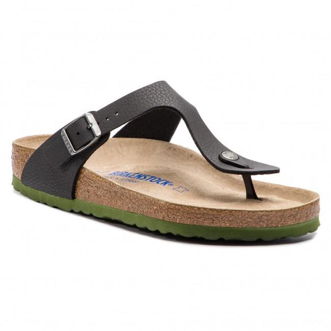 d93c008c946 Slides BIRKENSTOCK - Gizeh Bs 1009962 Desert Soil Black - Flip-flops ...