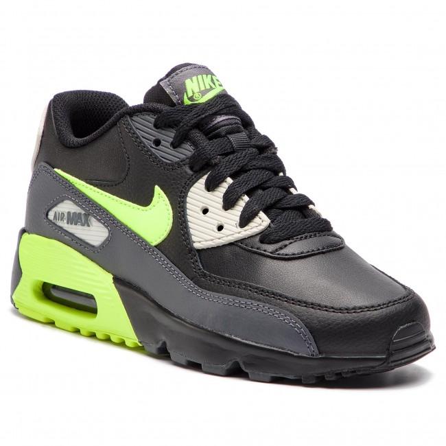 ec6e5ff2f1 Shoes NIKE - Air Max 90 Ltr (GS) 833412 023 Dark Grey/Volt/Black ...