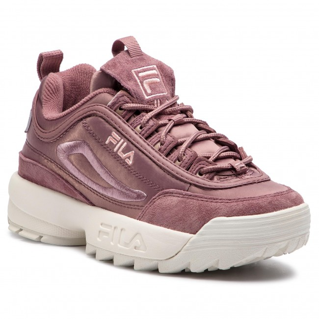781f115d34 Sneakers FILA - Disruptor Satin Low Wmn 1010437.70W Ash Rose ...
