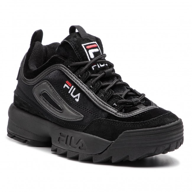 Sneakers FILA - Disruptor V Low Wmn 1010440.12V Black Black ... 4ffb11486b3