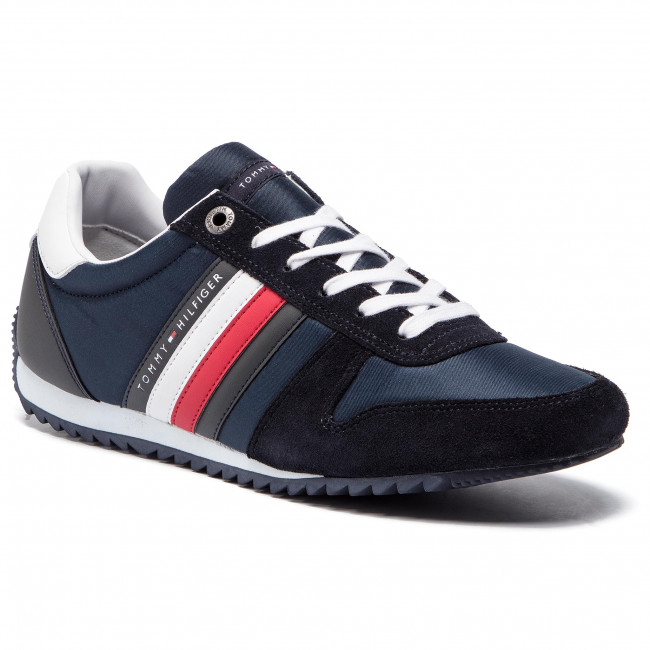 ef14d00b1 Sneakers TOMMY HILFIGER - Essential Nylon Runner FM0FM02024 Midnight ...