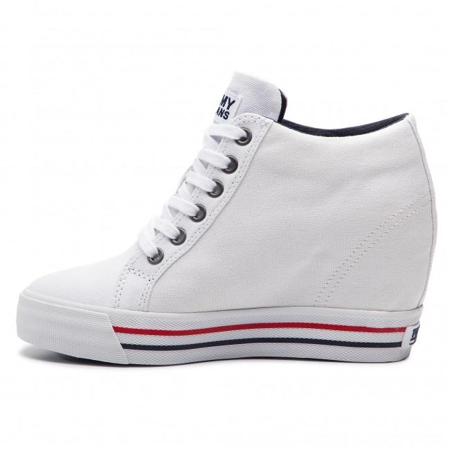 Wedge Casual Sneaker EN0EN00543 White