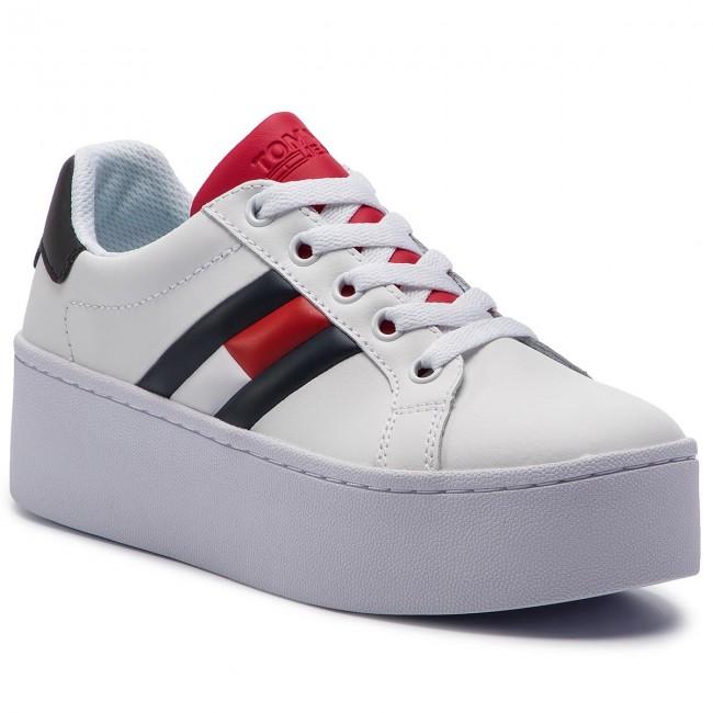 8acee077814e Sneakers TOMMY JEANS - Icon Sneaker EN0EN00556 Rwb 020 - Sneakers ...