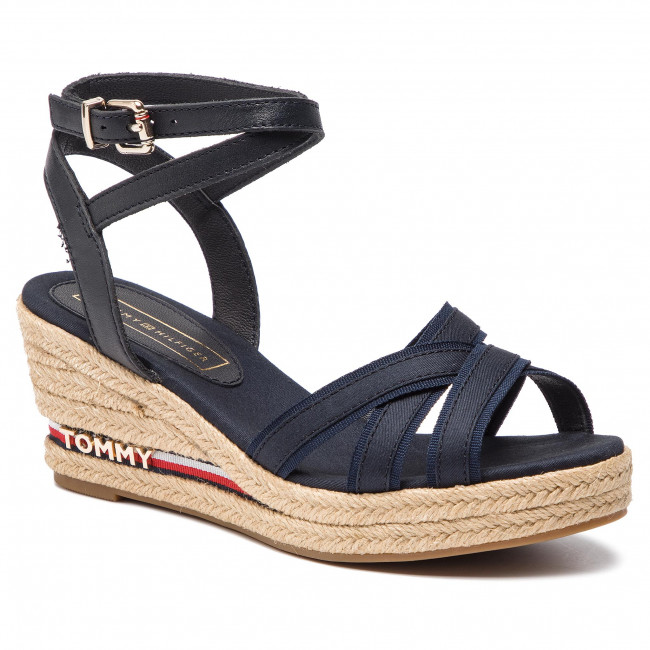 b278bb203 Espadrilles TOMMY HILFIGER - Iconic Elba Corporate Ribbon FW0FW04056 ...