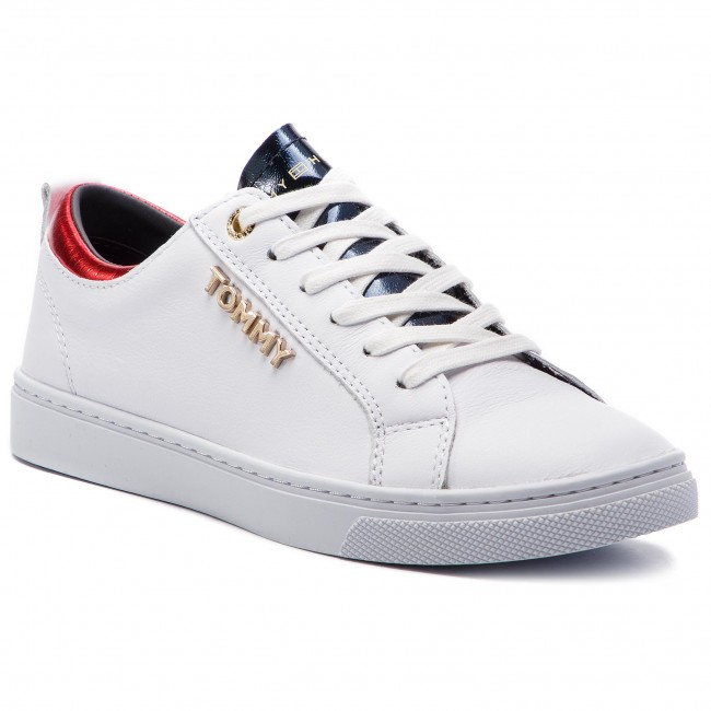 234e3c785c978 Sneakers TOMMY HILFIGER - City Sneaker FW0FW03776 White 100 ...