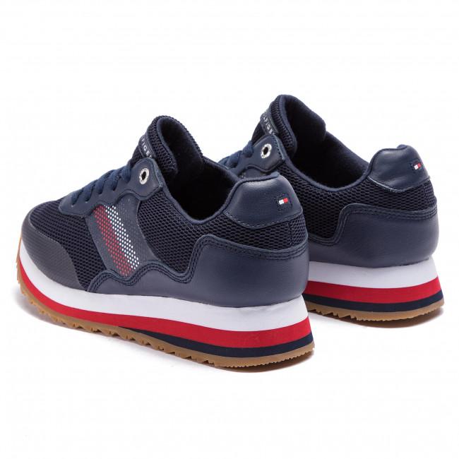 Retro Sneaker FW0FW04022 Tommy Navy 406
