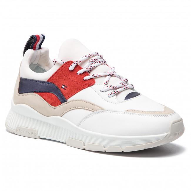 10346e295 Sneakers TOMMY HILFIGER - Lifestyle Sneaker FW0FW04029 Rwb 020 ...
