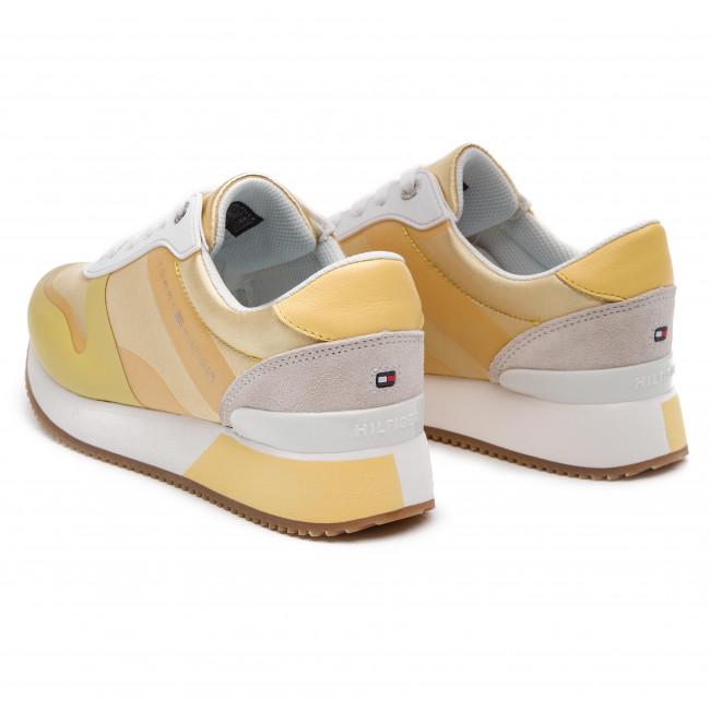Pop Color Satin City Sneaker FW0FW04099