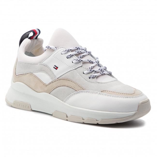 d499f83e325 Sneakers TOMMY HILFIGER - Lifestyle Sneaker FW0FW04115 White 100 ...