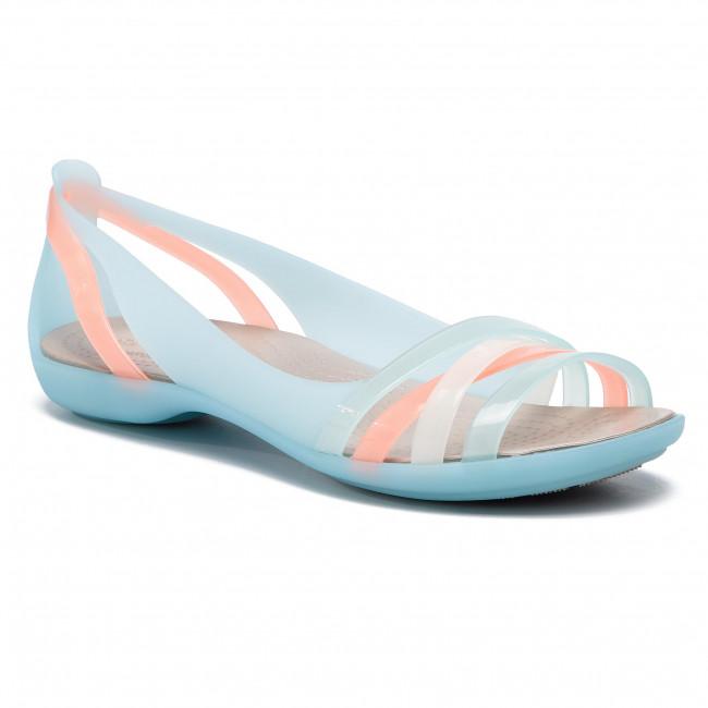 06e93173d120 Sandals CROCS - Isabella Huarache 2 Flat 2 204912 Ice Blue Platinum ...