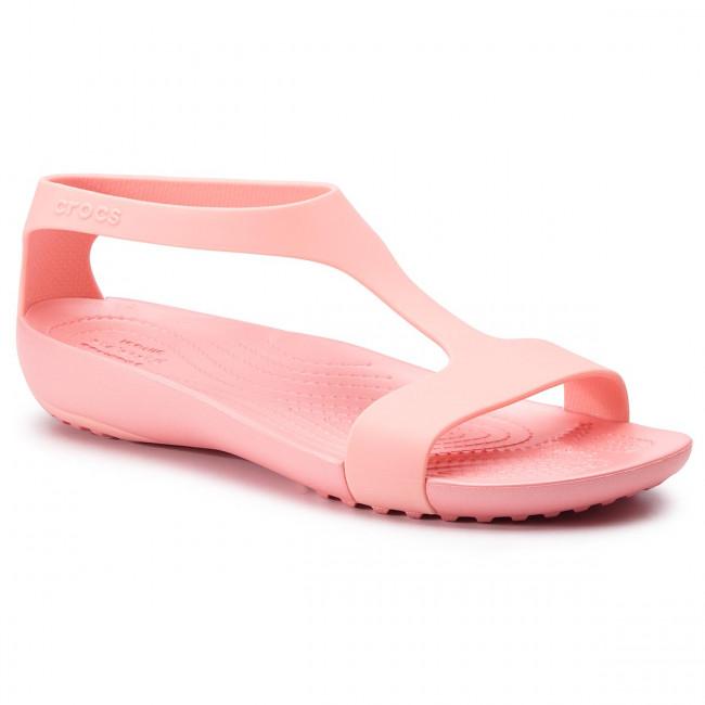 c9004f458b95 Sandals CROCS - Serena Sandal W 205469 Melon Melon - Casual sandals ...