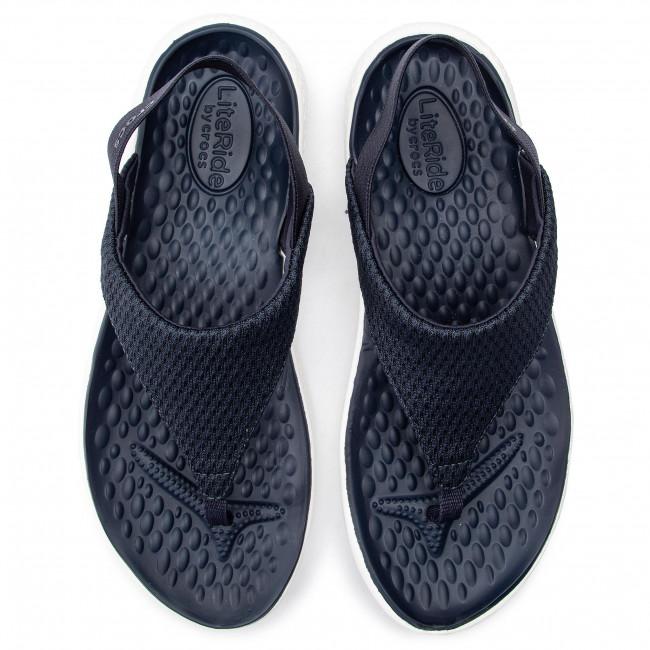 Sandals CROCS Literide Mesh Flip W 205477 NavyWhite