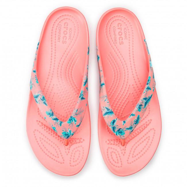 Crocs Kadee II Seasonal Flip Sandals Women tropicalmelon