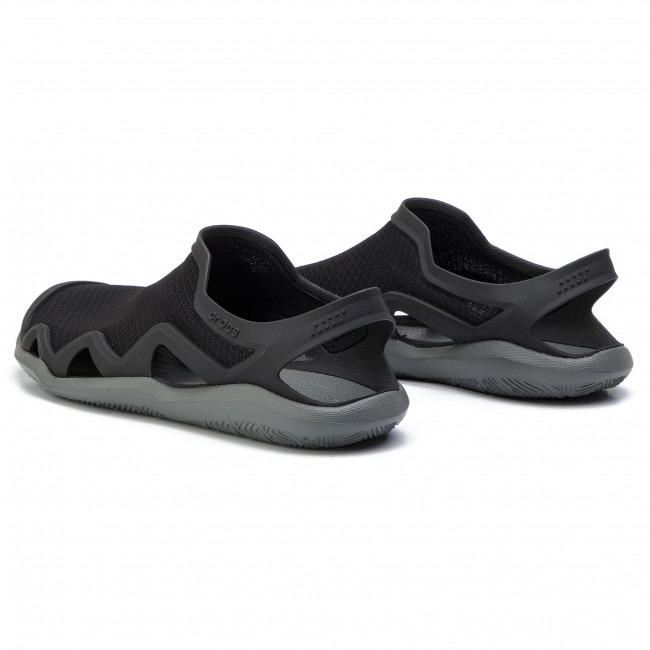 4da5a81db541 Sandals CROCS - Swiftwater Mesh Wave M 205701 Black Slate Grey ...