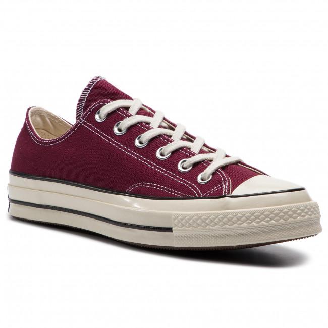 810599e2903 Sneakers CONVERSE - Chuck 70 Ox 162059C Dark Burgundy Blac ...