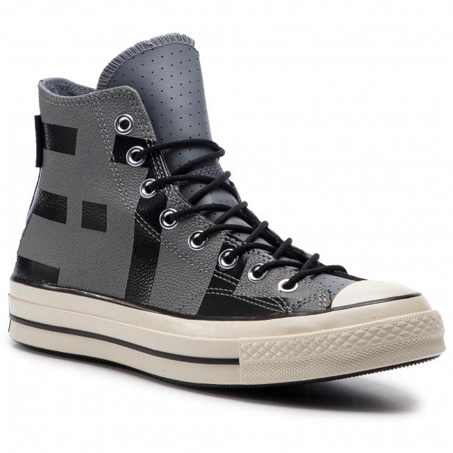 8ef6d88f07f Sneakers CONVERSE - Chuck 70 Hi GORE-TEX 163227C Cool Grey Black Egret