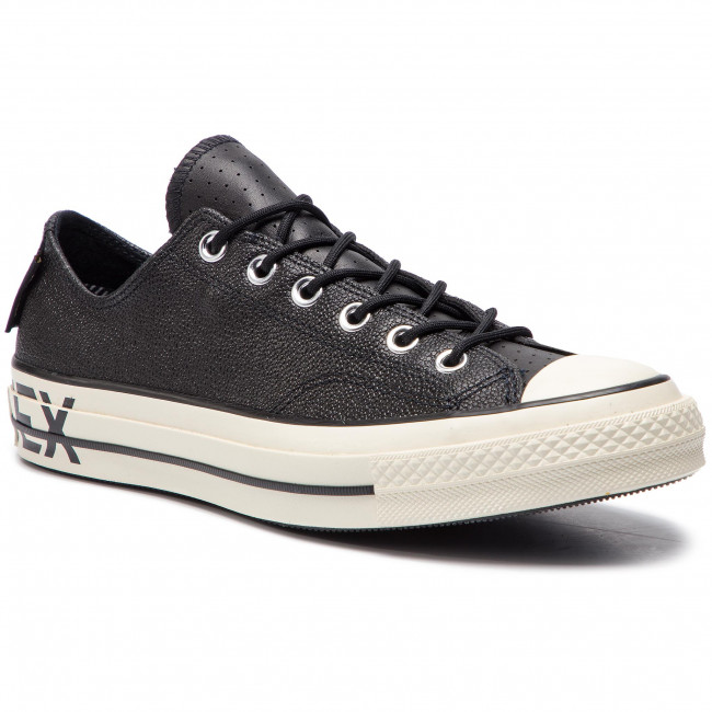 6284ff1a9fd Sneakers CONVERSE - Chuck 70 Ox GORE-TEX 163229C Black Black Egret ...