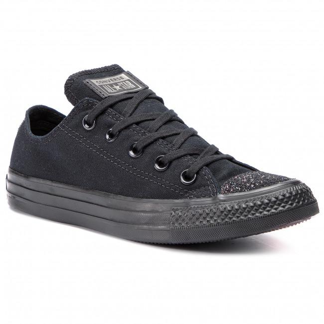 3dd06a5cbfc7 Sneakers CONVERSE - Ctas Ox 563465C Black Black Silver - Sneakers ...