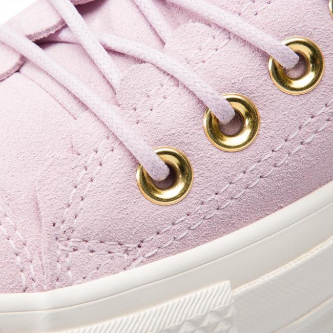 20f2d9f5df2e6 Plimsolls CONVERSE - Ctas Lift Ox 563500C Pink Foam/Gold/Egret - Sneakers -  Low shoes - Women's shoes - www.efootwear.eu