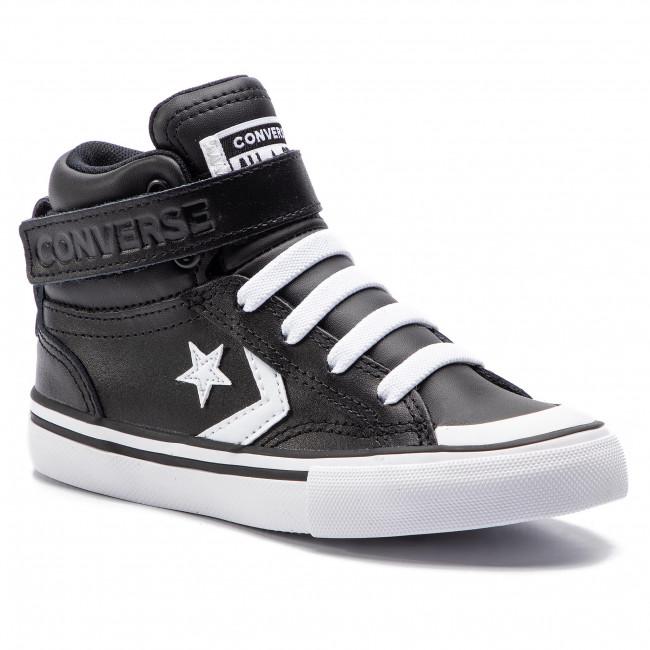 e5d9a6731b55 Sneakers CONVERSE - Pro Blaze Strap Hi 663608C Black White White ...