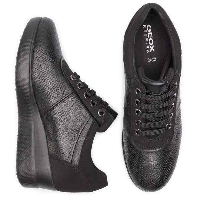 Sneakers GEOX D Stardust A D8430A 09DAF C9999 Black