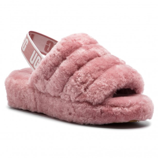 585e76702074f3 Slippers UGG - W Fluff Yeah Slide 1095119 W/Pdw - Slippers - Mules ...
