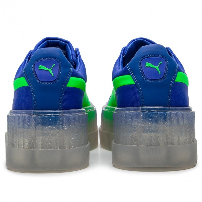 save off 6c4aa 2b345 Sneakers PUMA - Cleated Creeper Surf Wns 367681 01 Dazzling Blue/Green Gecko