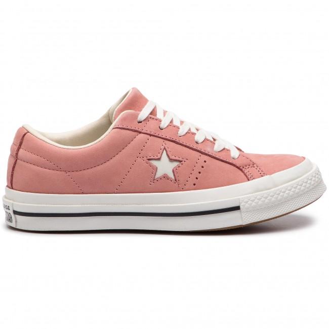 949931020bf Plimsolls CONVERSE - One Star Ox 161586C Rust Pink Egret Vintage White