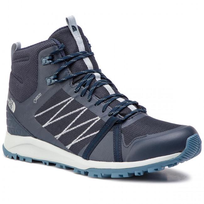 67c0b40a4cbdd Trekker Boots THE NORTH FACE - Litewave Fastpack II Mid Gtx GORE-TEX Urban  Navy
