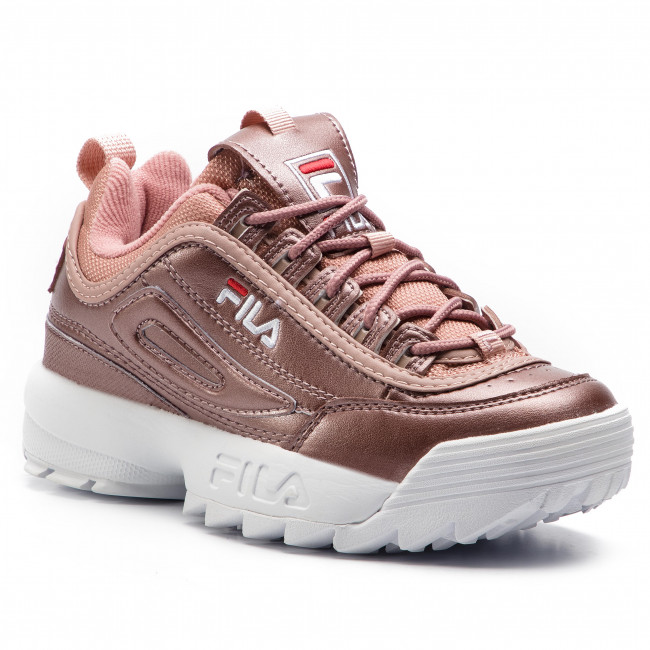 0e42ece068 Sneakers FILA - Disruptor Mm Low Wmn 1010442.70X Ash Rosegold ...
