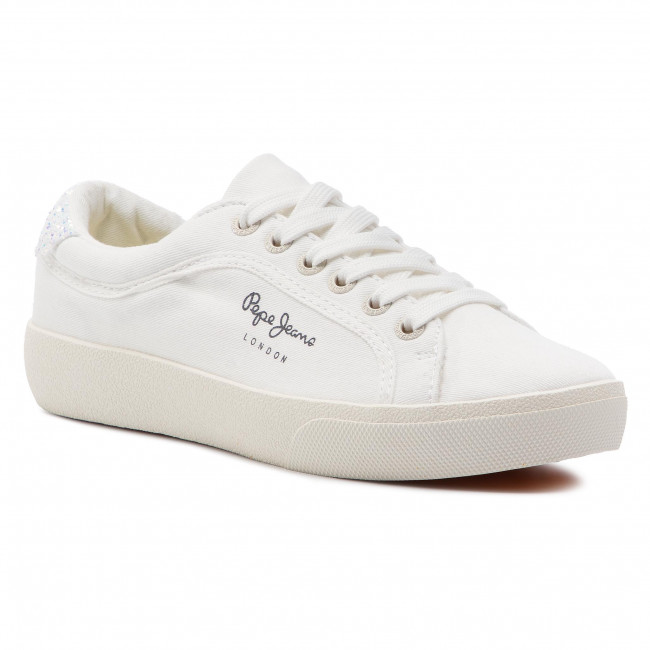 04ed404ac7a Sneakers PEPE JEANS - Rene Surf PLS30826 White 800 - Sneakers - Low ...