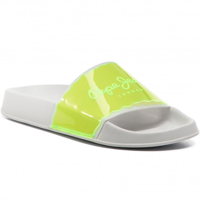 a443aaf8c7 Slides PEPE JEANS - Flap Fluor PLS70052 Neon Yellow 044 - Casual ...