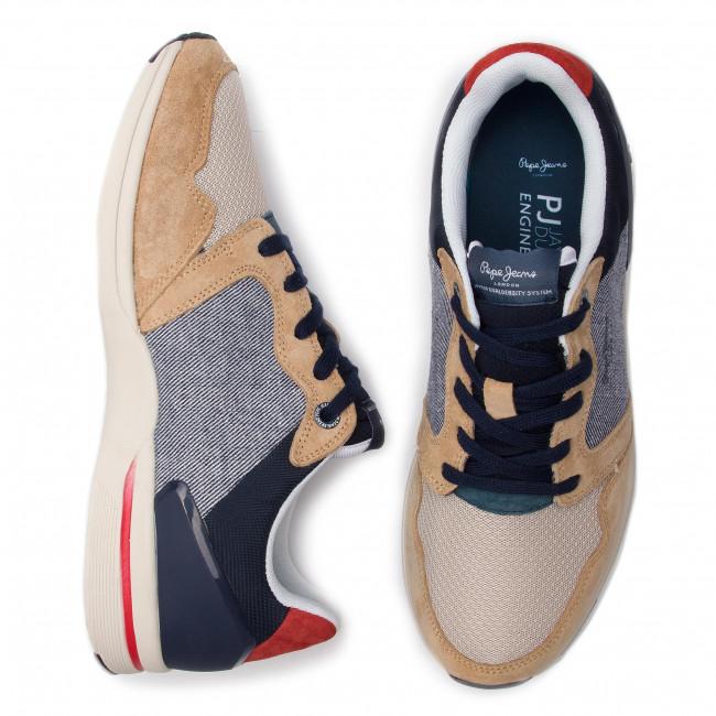 97307df4b4 Sneakers PEPE JEANS - Jayker Dual D-Limit PMS30514 Sand 847 - Sneakers -  Low shoes - Men s shoes - www.efootwear.eu