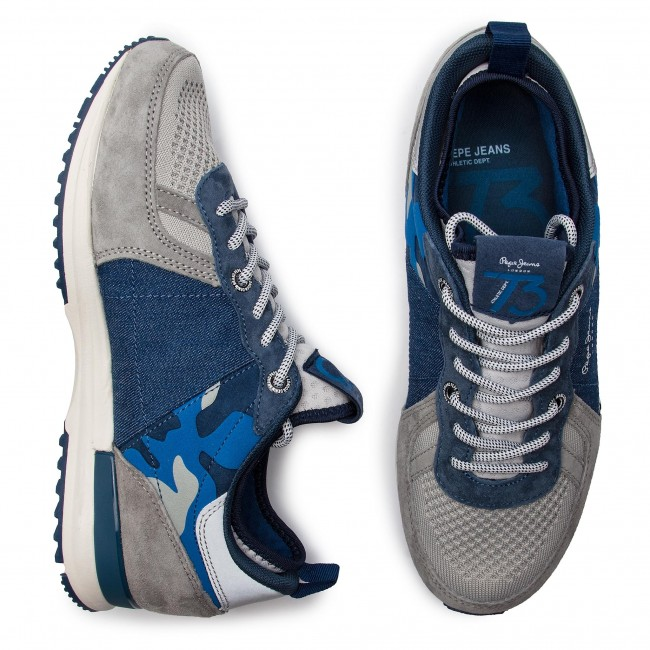 485faf0c45066 Sneakers PEPE JEANS - Tinker Pro 73 Fusion PMS30528 Grey 945 - Sneakers -  Low shoes - Men's shoes - efootwear.eu