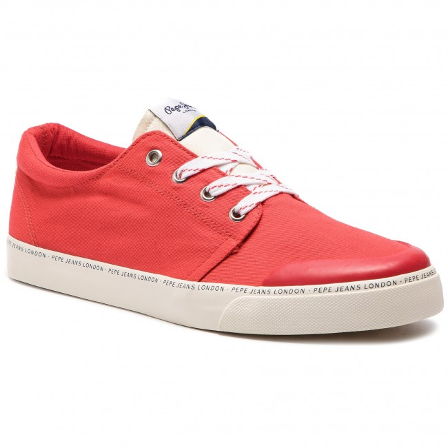 Sneakers PEPE JEANS - Traveller Basic Man PMS30541 Red 255 ... ad8bf8a24c2