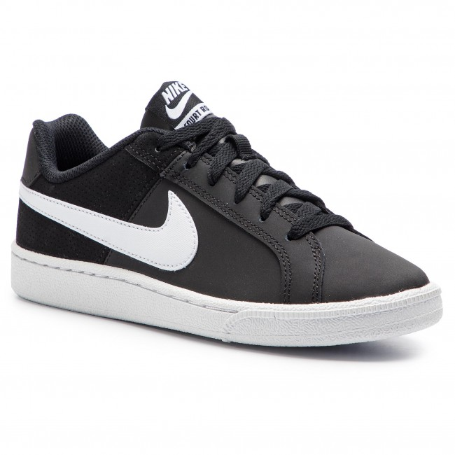 27f4093fe98c38 Shoes NIKE - Wmns Nike Court Royale 749867 010 Black White ...