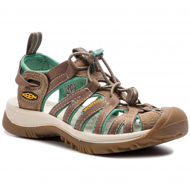 a24178d3a444 Sandals KEEN - Whisper 1016577 Shitake Malachite - Casual sandals ...