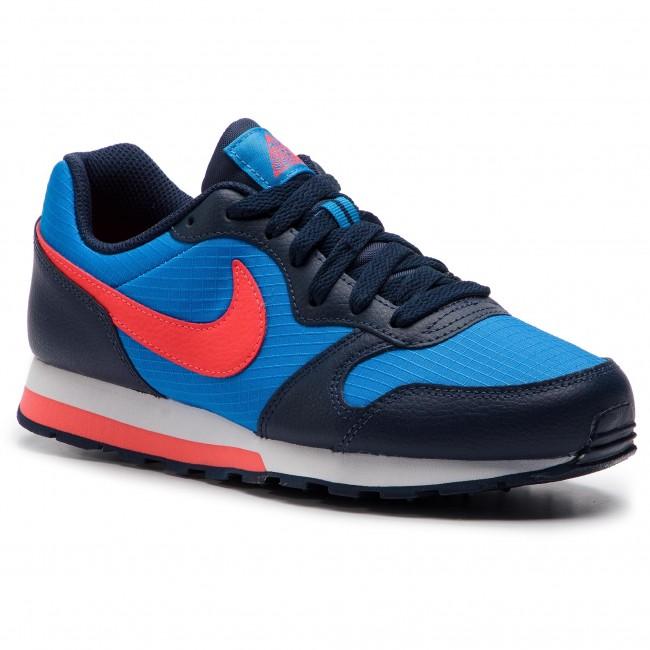 super popular a4480 da08b Shoes NIKE - Md Runner 2 (GS) 807316 412 Photo Blue Bright Crimson