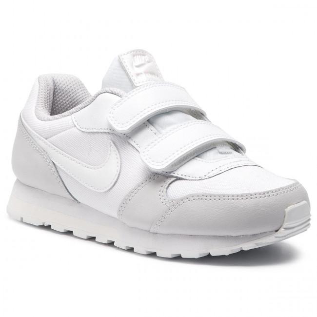 5b09f2bcd7 Shoes NIKE - Md Runner 2 (PSV) 807320 100 White White Vast Grey ...