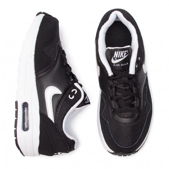 b8bd9bcc67 Shoes NIKE - Air Max 1 (PS) 807603 001 Black/White - Laced shoes - Low shoes  - Girl - Kids' shoes - www.efootwear.eu