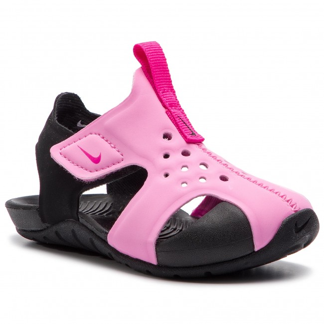 df0fd54fbbb380 Sandals NIKE - Sunray Protect 2 (TD) 943827 602 Psychic Pink Laser Fuchsia