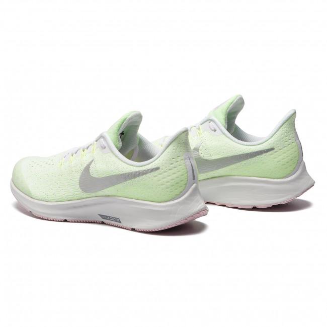 ab3af207b265 Shoes NIKE - Air Zoom Pegasus 35 (GS) AH3481 100 White Metallic Silver