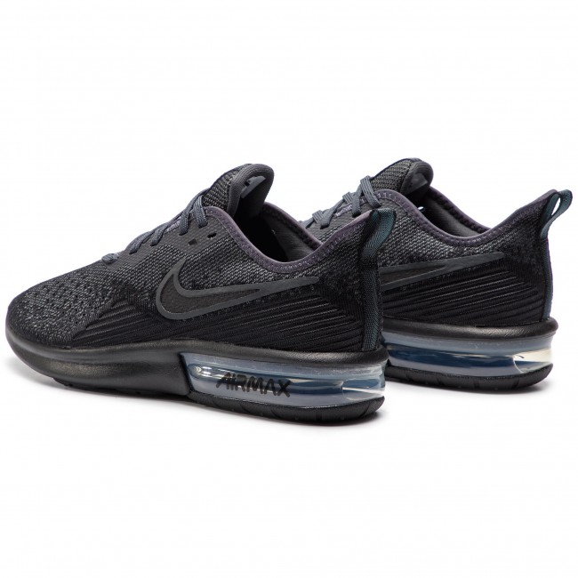 harto archivo Serafín  Shoes NIKE - Air Max Sequent 4 AO4485 002 Black/Black/Anthracite - Sneakers  - Low shoes - Men's shoes | efootwear.eu