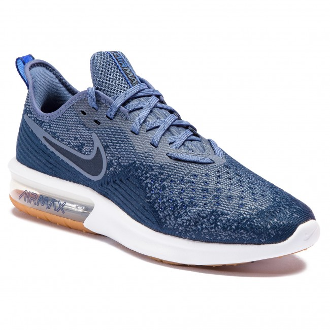 Shoes NIKE - Air Max Sequent 4 AO4485 400 Midnight Navy Obsidian ... b287d471bb8e3