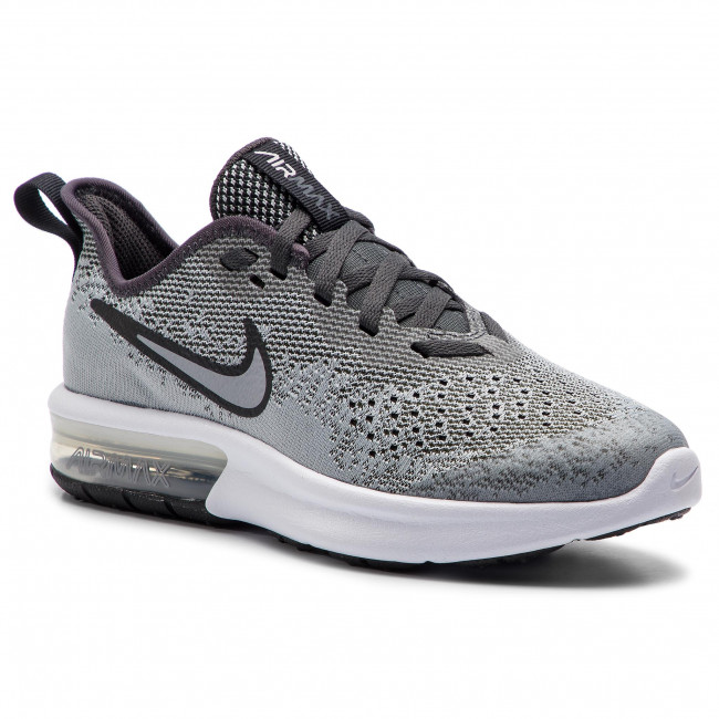 quality design 1351f 856b5 Shoes NIKE. Air Max Sequent 4 (GS) AQ2244 003 Wolf Grey Wolf Grey Anthracite