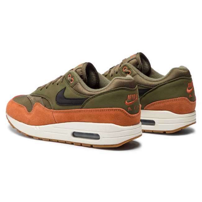 cheap for discount 52dc1 8f292 Shoes NIKE - Air Max 1 AH8145 301 Olive Canvas Black Dark Russet