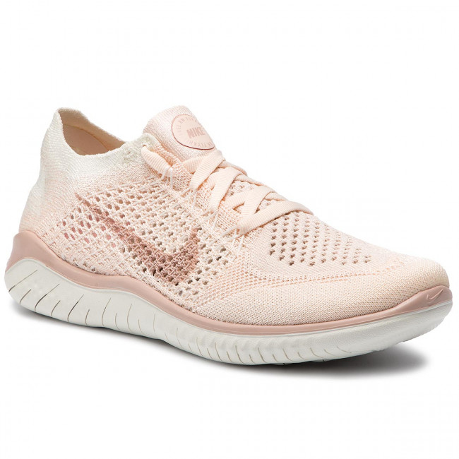 77e6b67e7f27 Shoes NIKE - Free Rn Flyknit 2018 942839 802 Guava Ice Particle Beige Sail